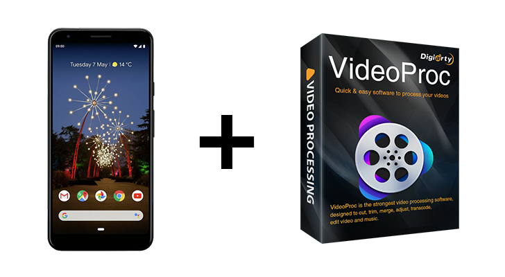 Giveaway: Win a Pixel 3a XL and VideoProc lifetime license [US]