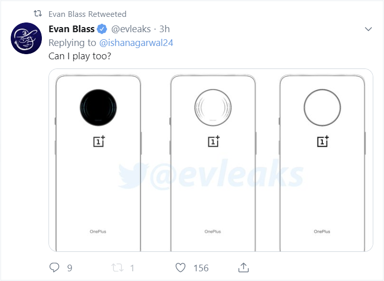 New OnePlus Phone With Huge Circular Camera Cutout Leaks