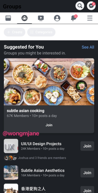 Facebook is working on a dark mode for its Android app