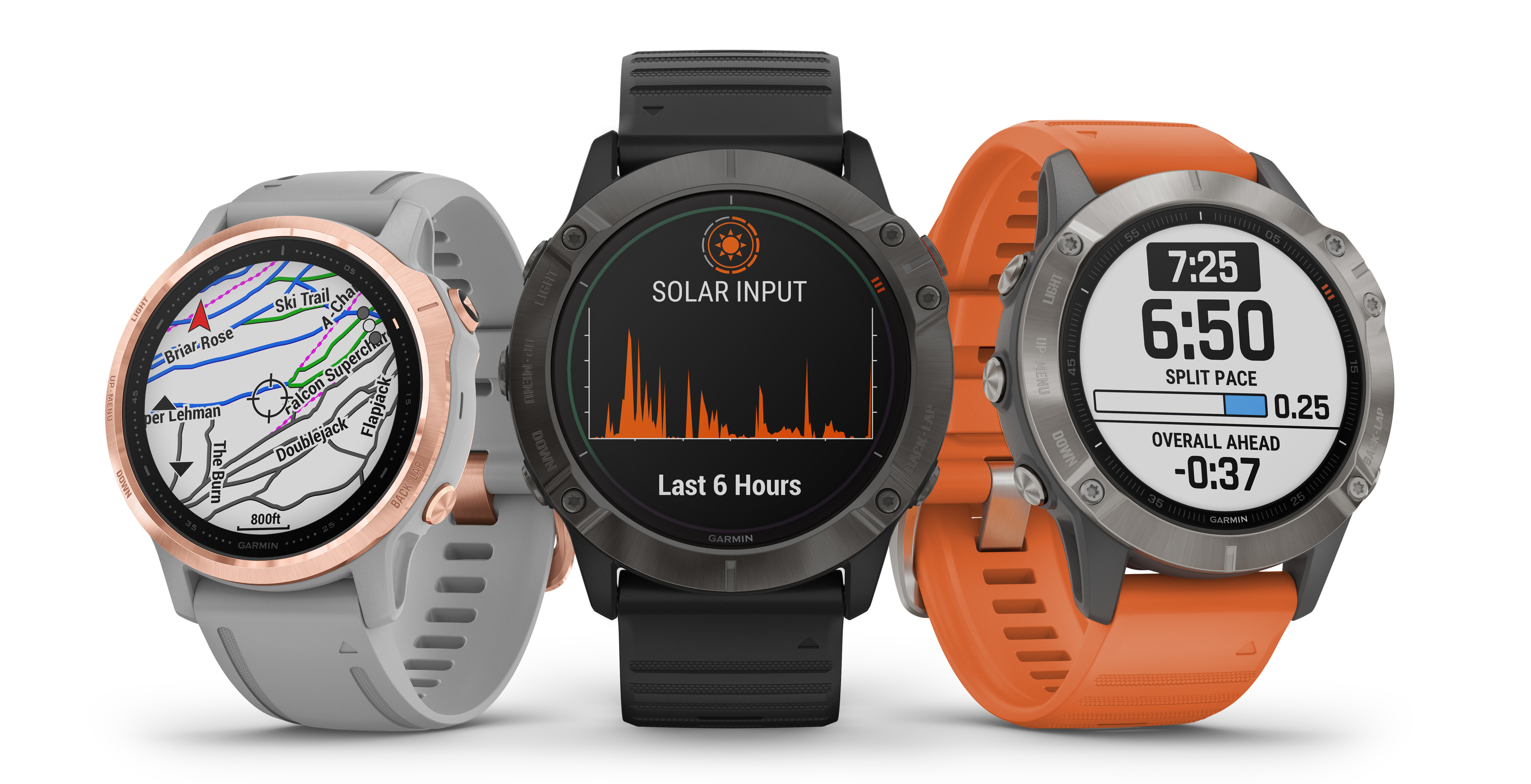 Garmin Fenix 6X Pro Solar goes official as the first Solar-powered smartwatch