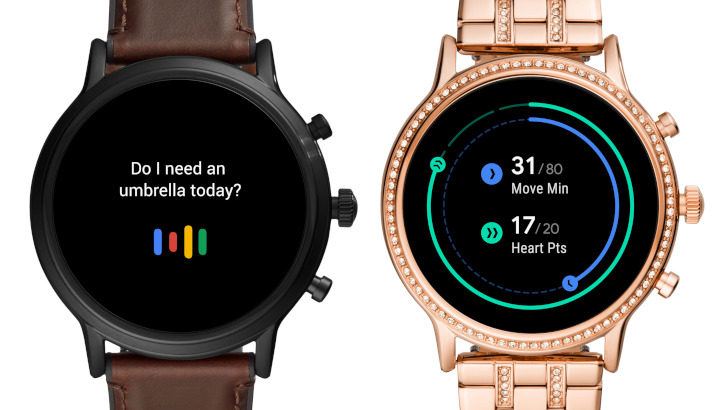 This is Fossil's answer to Apple Watch