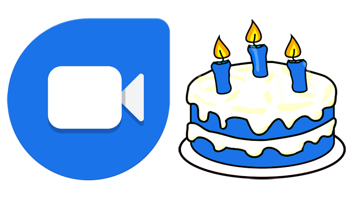 Knock Knock! Happy third birthday, Google Duo