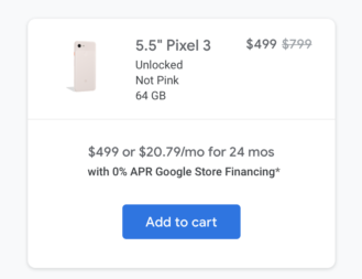 The Pixel 3 and 3 XL are $300 off at Google and Amazon