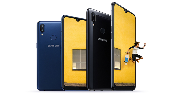 Samsung announces mid-range Galaxy A10s packing a 4,000 mAh battery