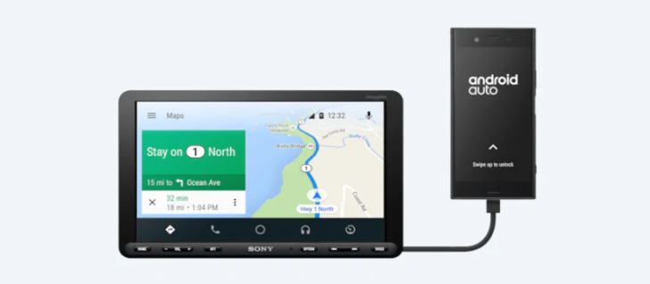 Sony's 9-inch, single-DIN Android Auto receiver launches in December