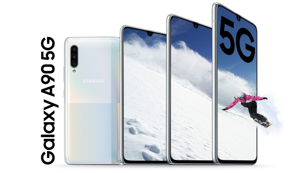 The Galaxy A90 5G is the cheaper, flat-screen S10+ of your dreams