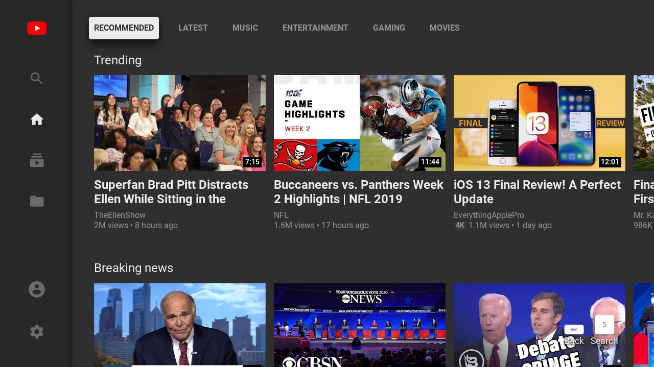 Sorry, HTPC owners: YouTube is killing its web-based TV interface