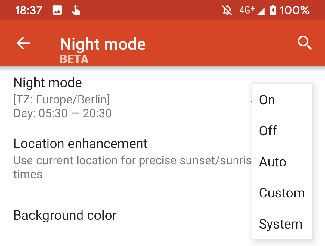Nova Launcher beta adds support for Android 10 dark theme