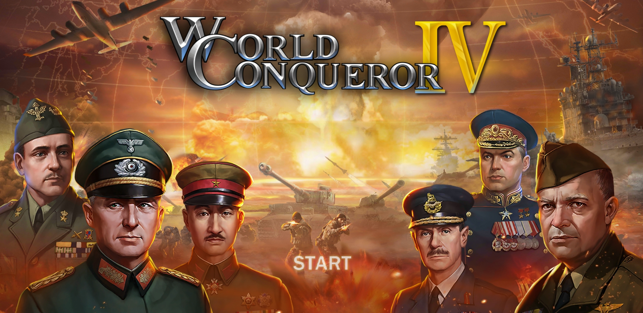 Deploy your troops, wage battles, and conquer your foes in World Conqueror 4, a historical WWII strategy game [Sponsored]