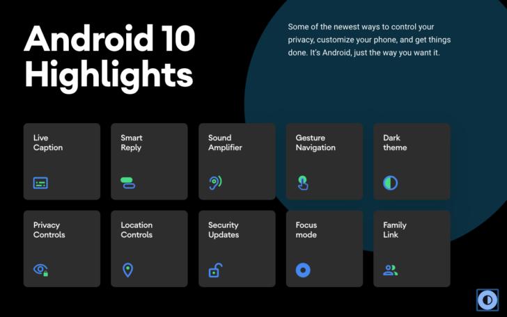 Android 10 正式随着全新设计官网上线 1