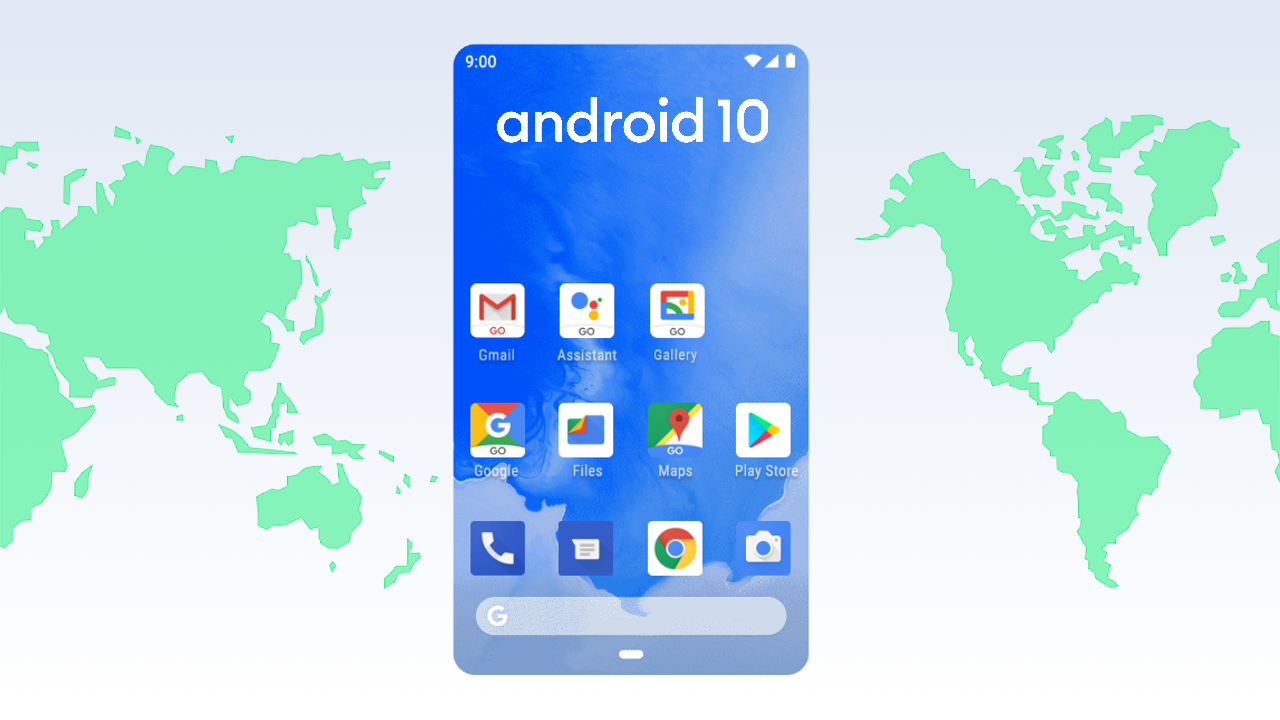 Image result for android 10 go