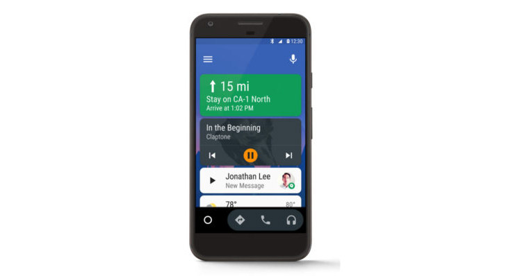 Google says it'll soon release a new 'Android Auto for Phone Screens' app