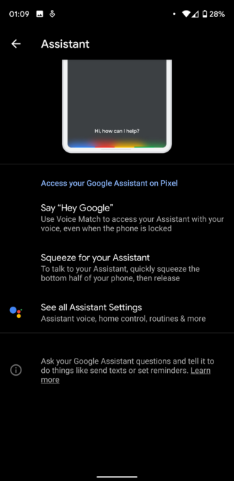 Pixel users can now access Google Assistant toggles right