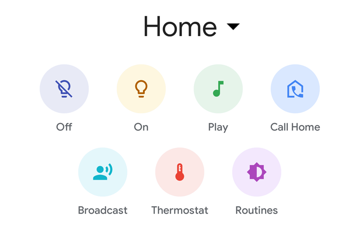 Google Home app adds handy button to call your Smart Display at home
