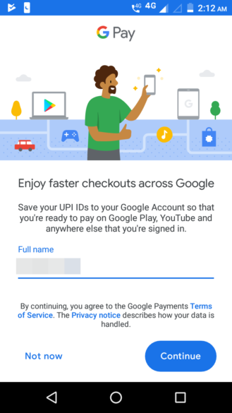 Google adds UPI as a Play Store payment method in India