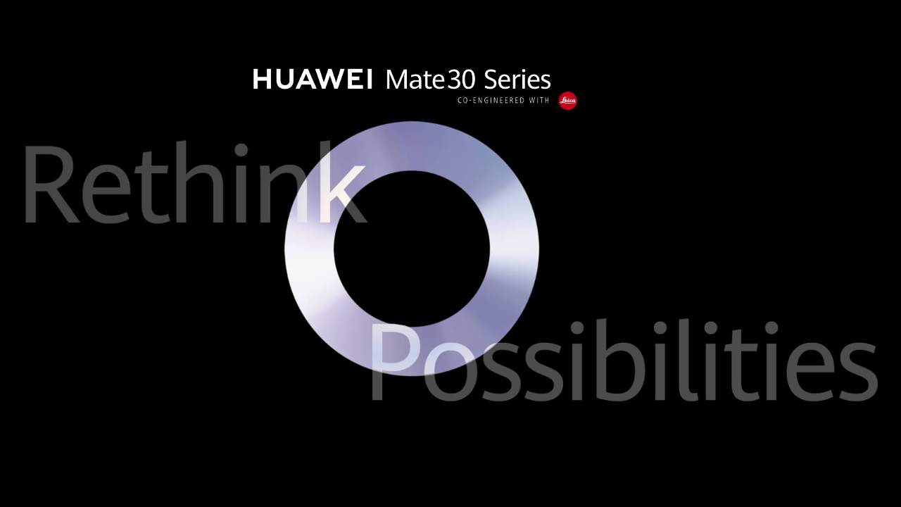 Watch the Huawei Mate 30 reveal livestream starting from 5 a.m. PDT