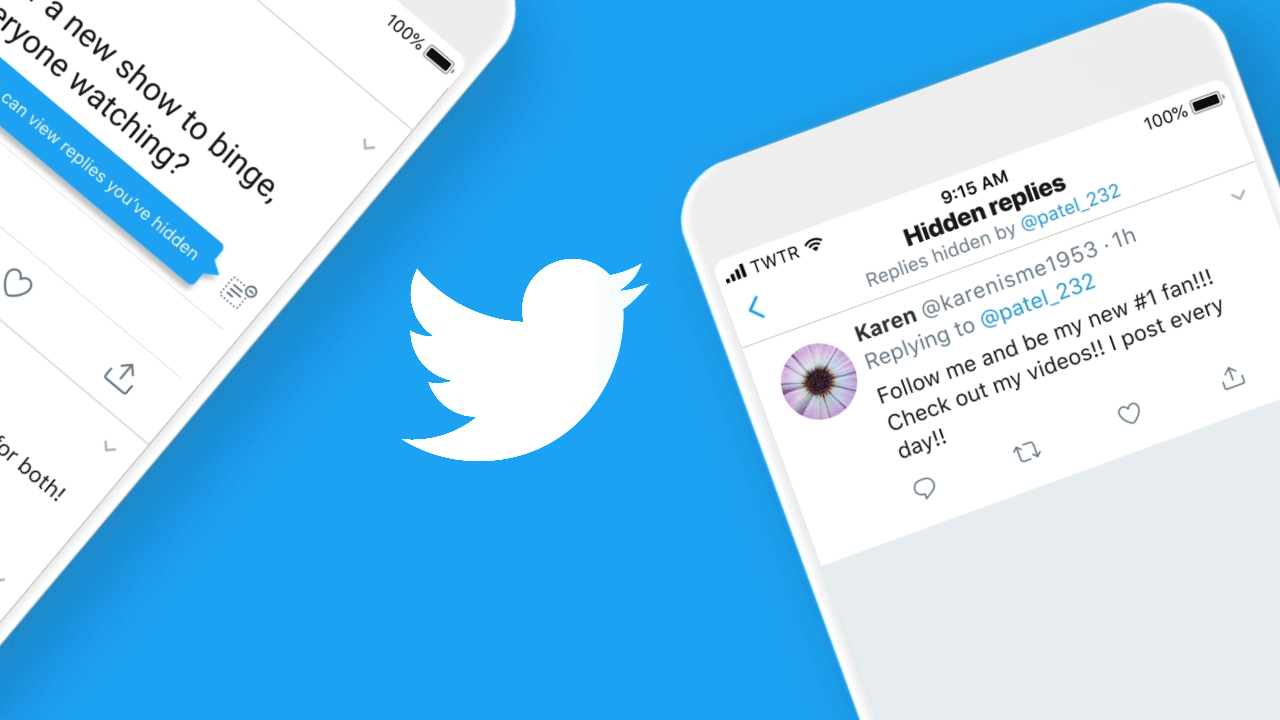 Twitter lets United States users hide replies in their threads