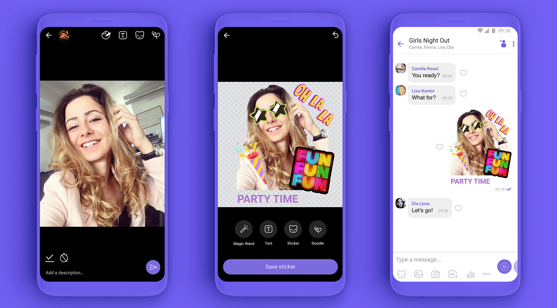 New Viber feature lets you create your own custom stickers