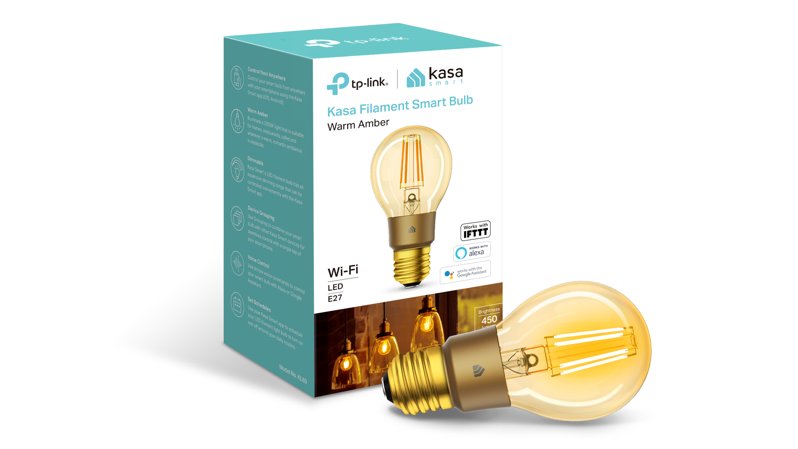 TP-Link now sells a smart light strip and Wi-Fi vintage light bulbs