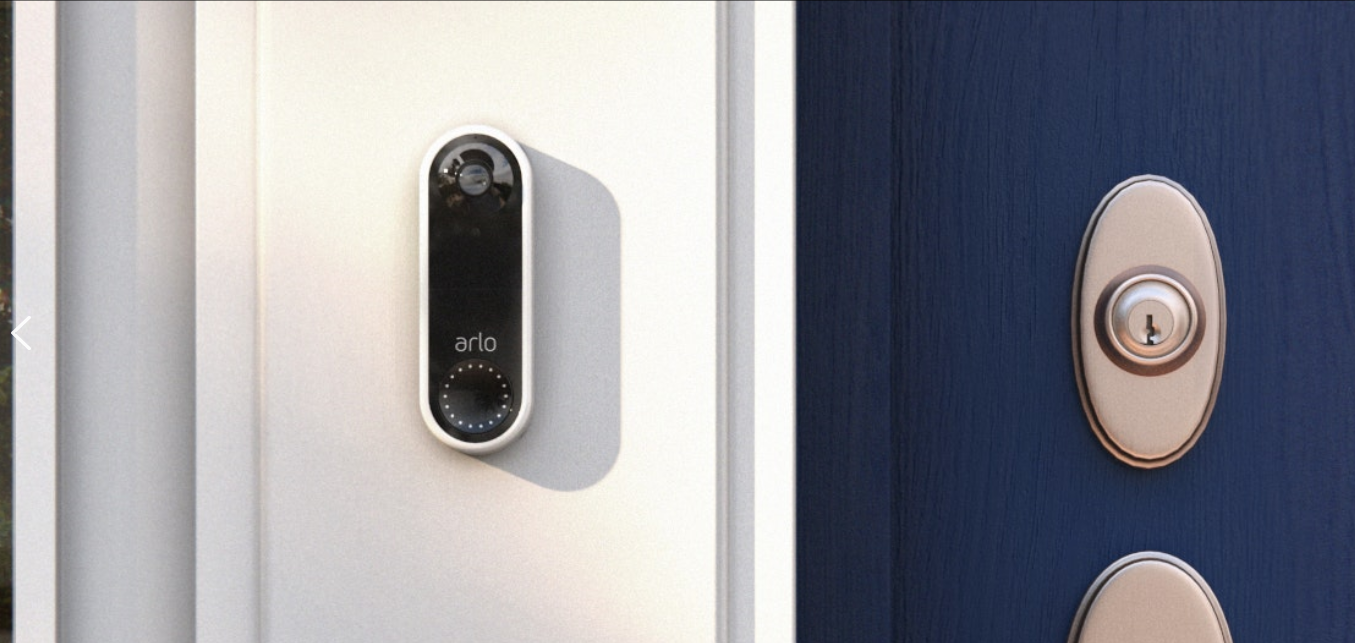 Arlo announces video doorbell with a 180-degree 'vertical view' and direct-to-mobile video calls