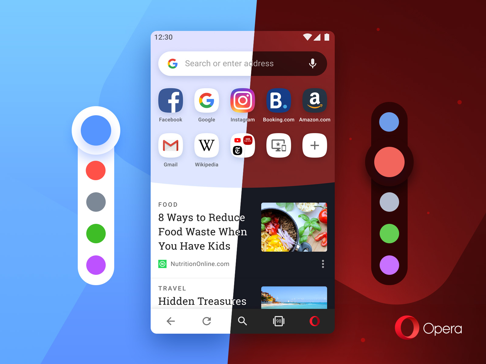 Opera overhauls Android browser with theming support, crypto payments, and more