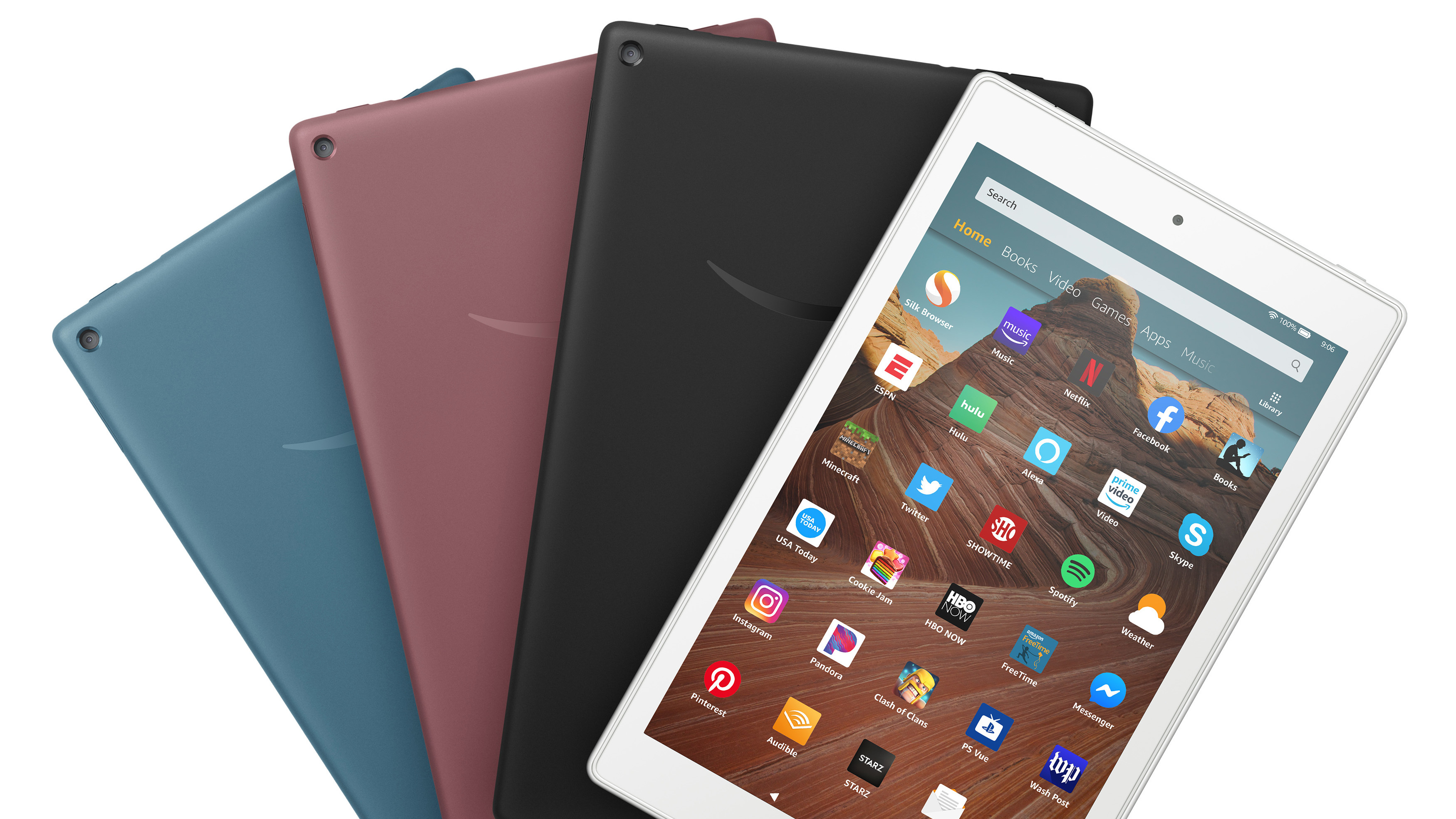 Amazon updates Fire HD 10 tablet with USB Type-C and Android Pie