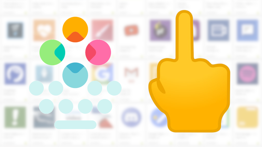 Google hypocritically flags Fleksy keyboard for mature content over 🖕 emoji