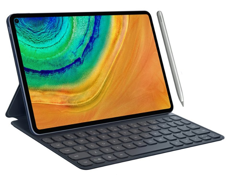 (Update: Announcement date) Huawei MatePad Pro renders look like an iPad Pro with a hole-punch camera