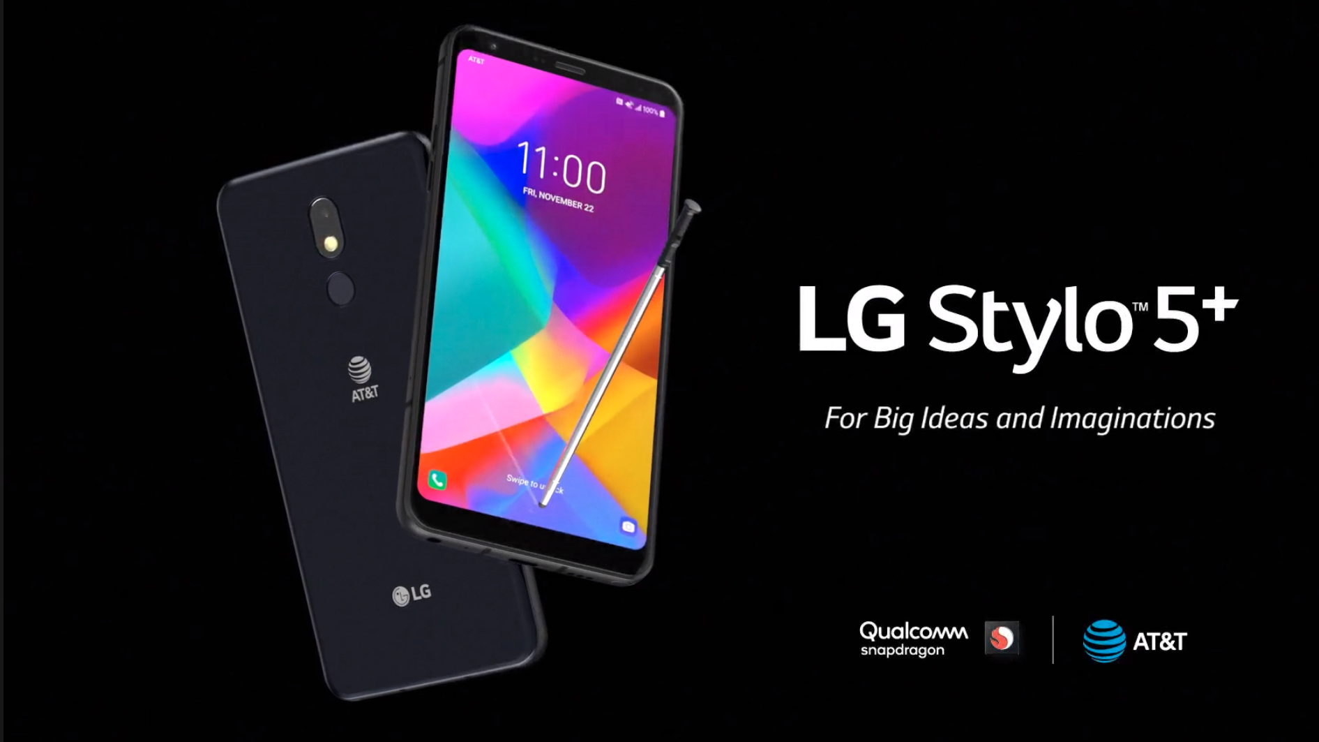 LG Stylo 5+ goes on sale at AT&T with upgraded front-facing camera