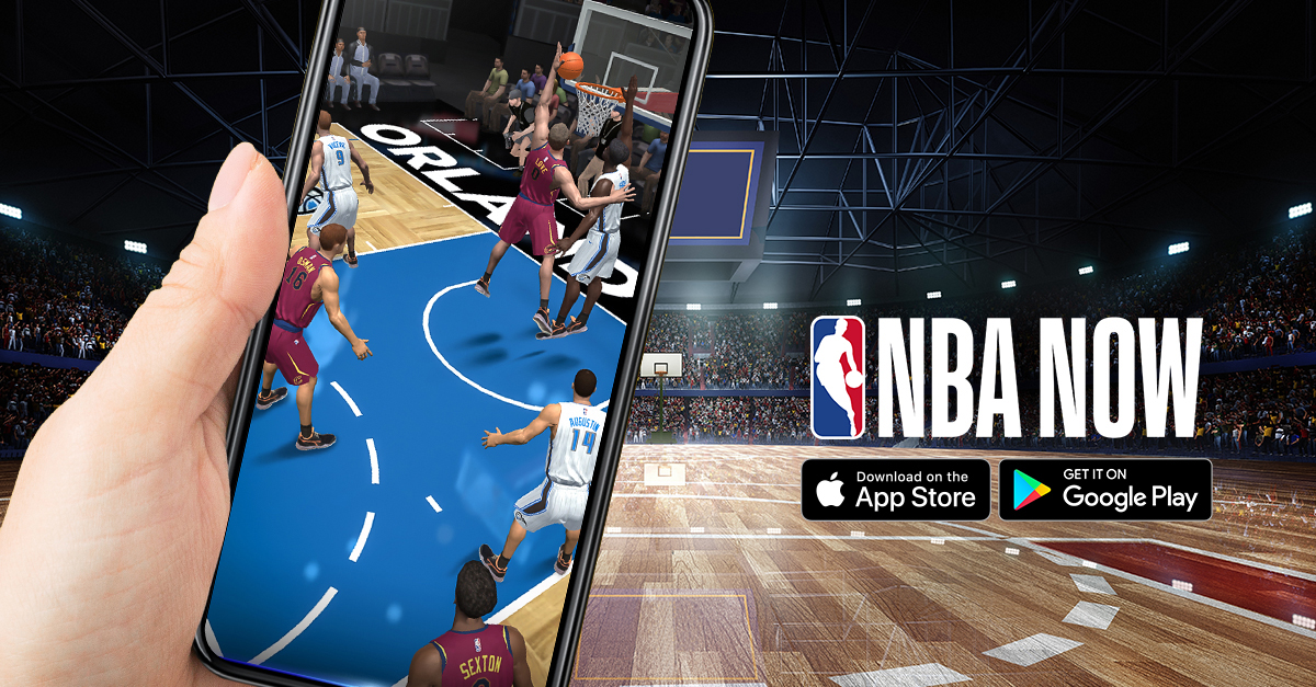 NBA Now is Gamevil's answer to 2K's and EA's professional basketball games