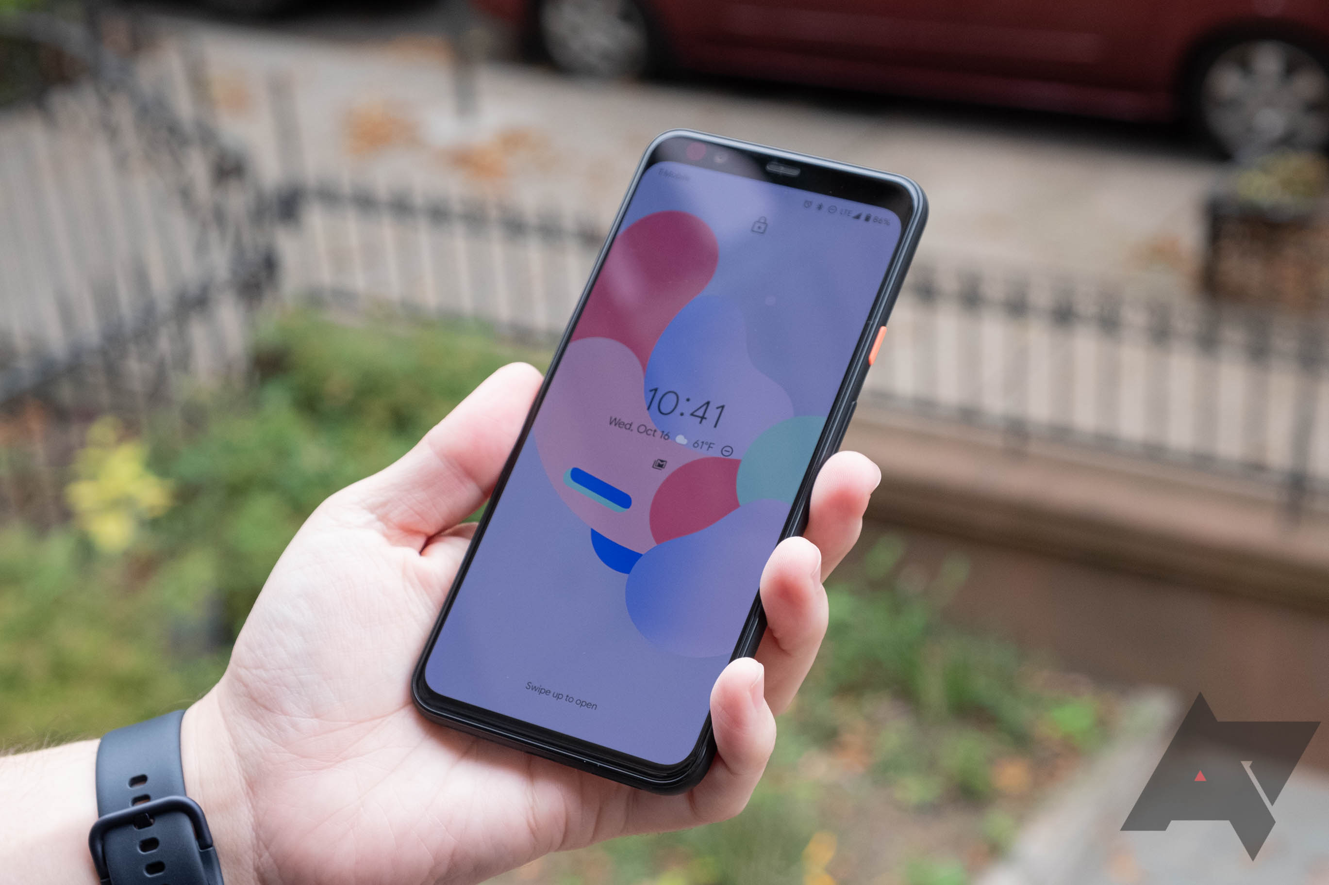 The Pixel 4 hides lock screen notifications, but you can re-enable them