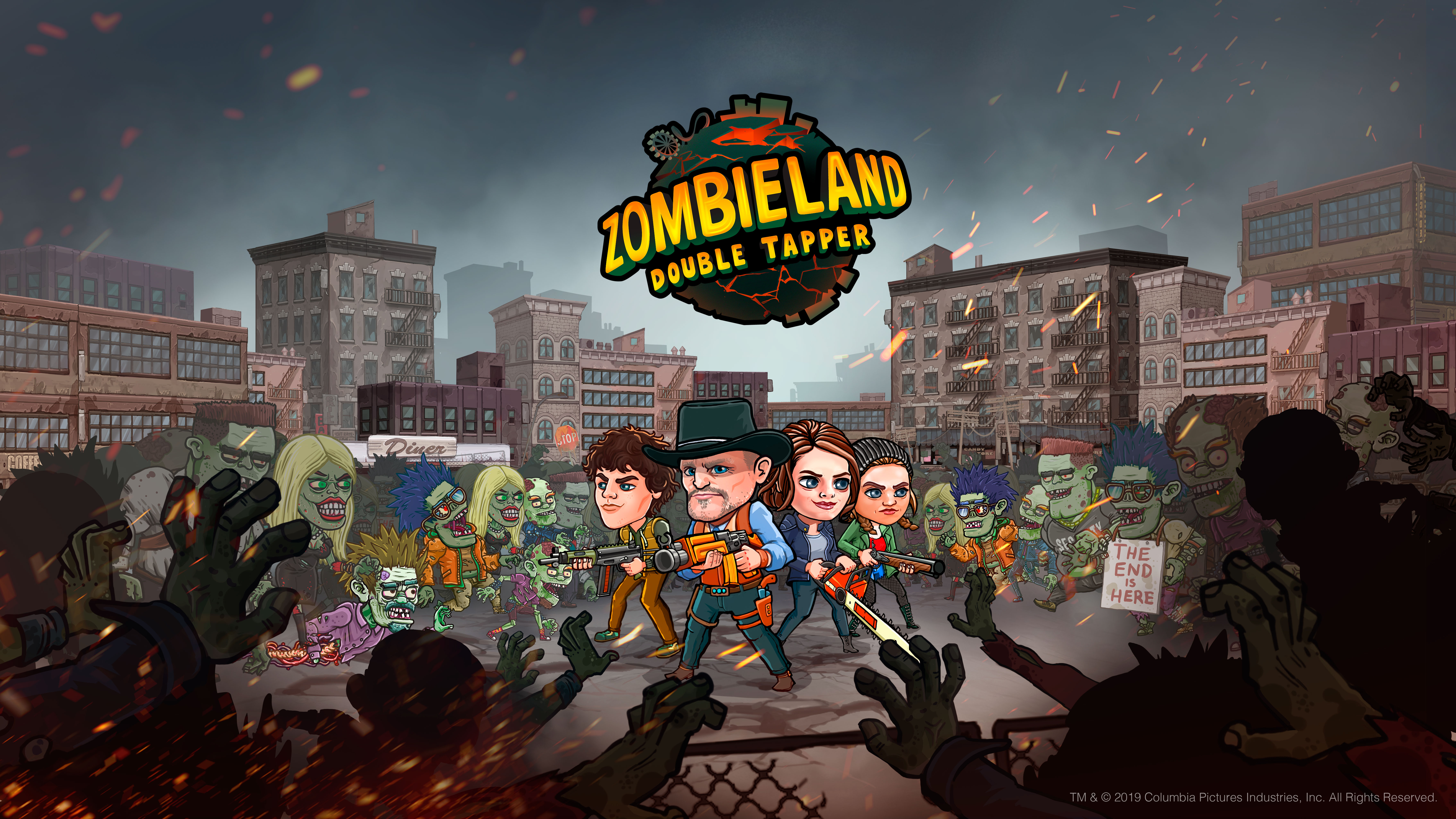 Idle Games 2020.Zombieland Double Tapper Is A F2p Idle Game That Serves
