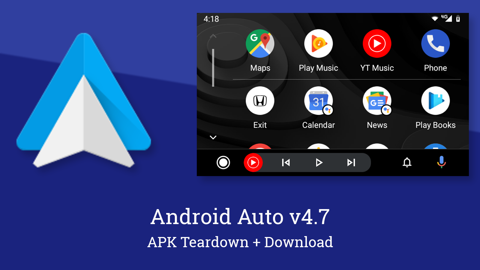 Android Auto v4.7 prepares to hide unwanted apps and adds new media notification setting [APK Teardown]