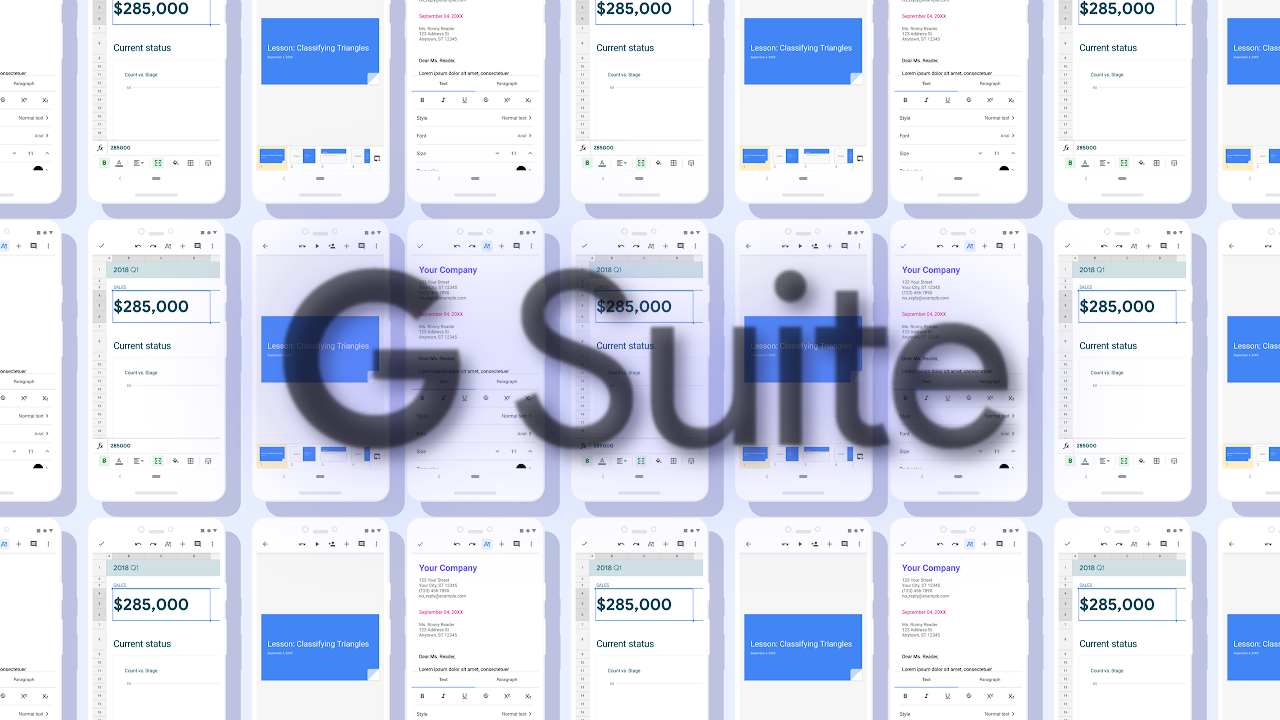 Material Design for Docs, Sheets, and Slides rolling out to G Suite accounts