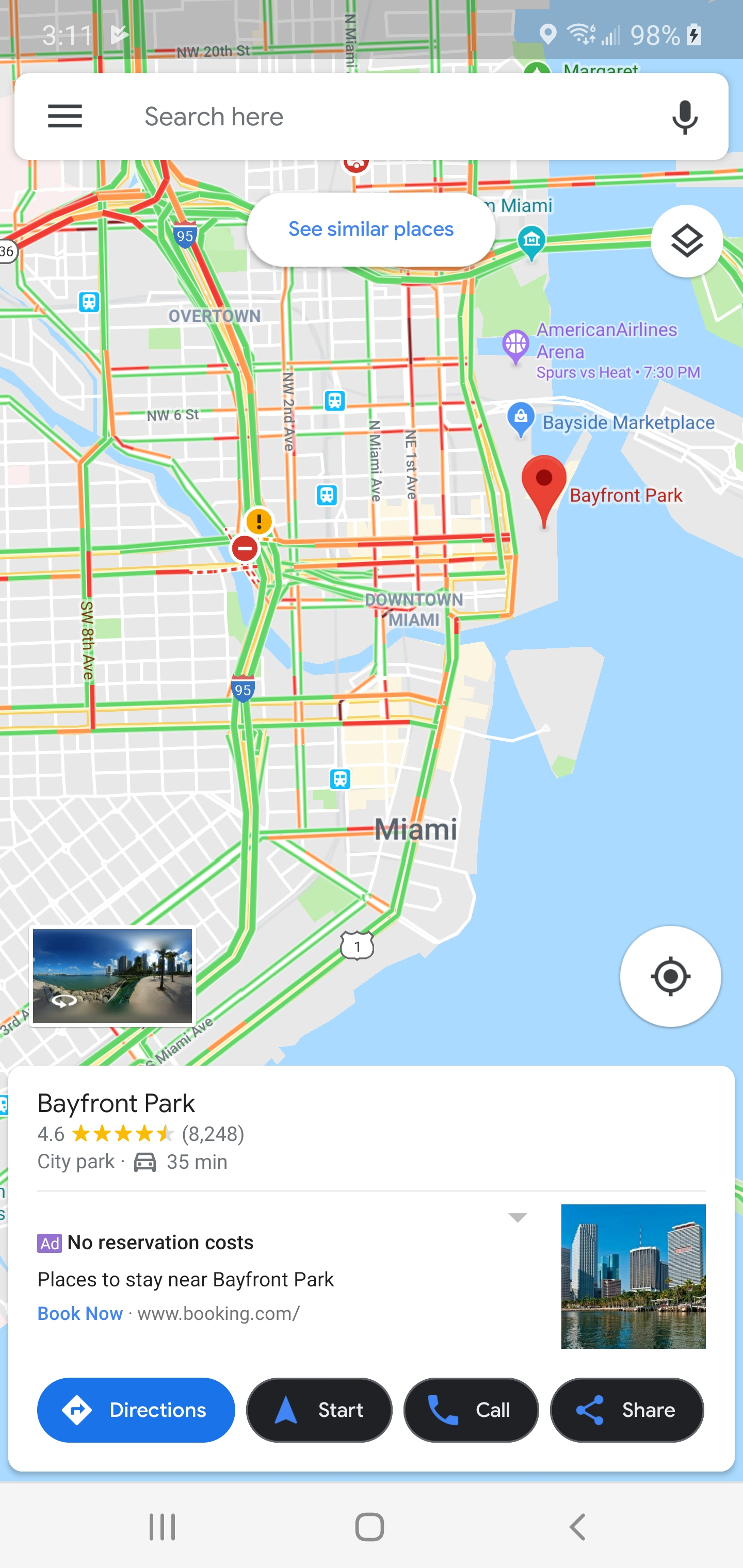 Update: Google teaser] Dark mode signs show up in Google Maps on