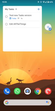 Google Tasks v1.7 adds dark mode and homescreen widget [APK Download] - Android Police 8