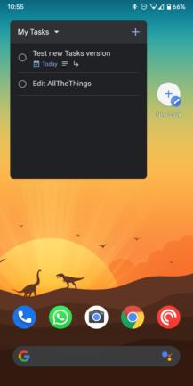 Google Tasks v1.7 adds dark mode and homescreen widget [APK Download] - Android Police 9