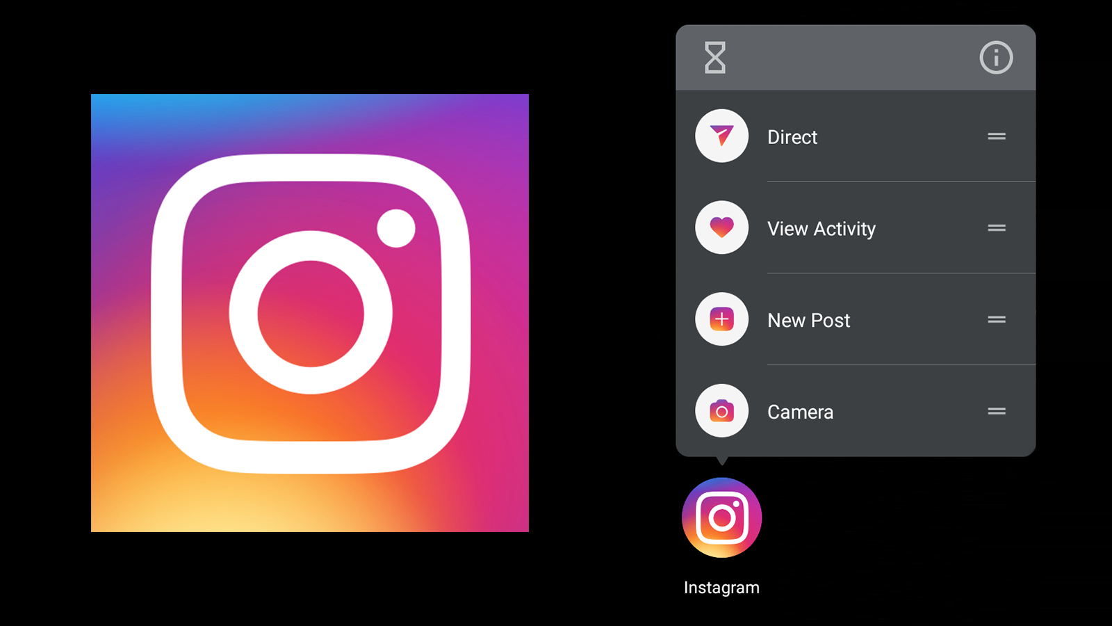Instagram is finally working on app shortcuts for Android