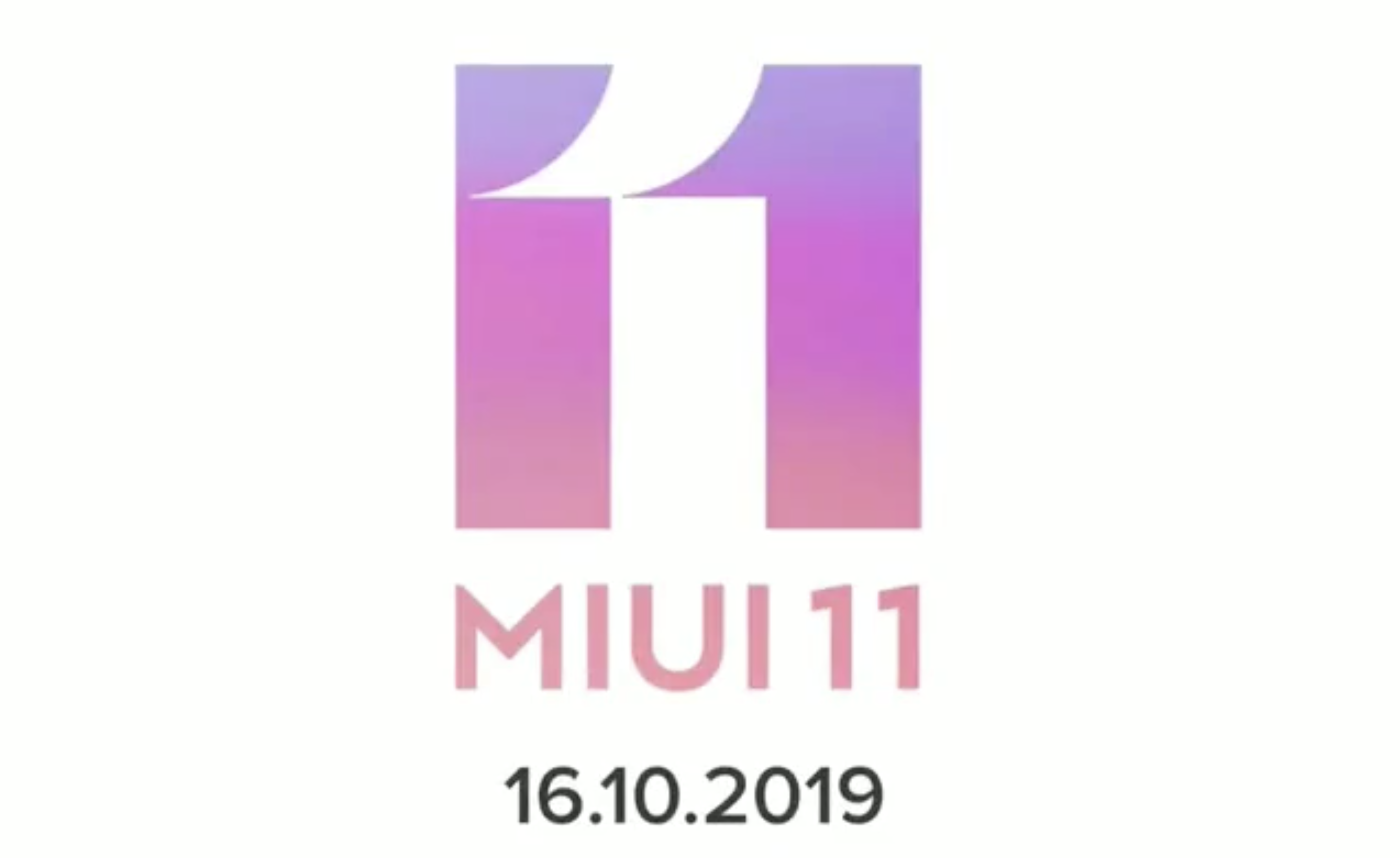 [Update: Rollout time table] MIUI 11 to start rolling out globally on October 16