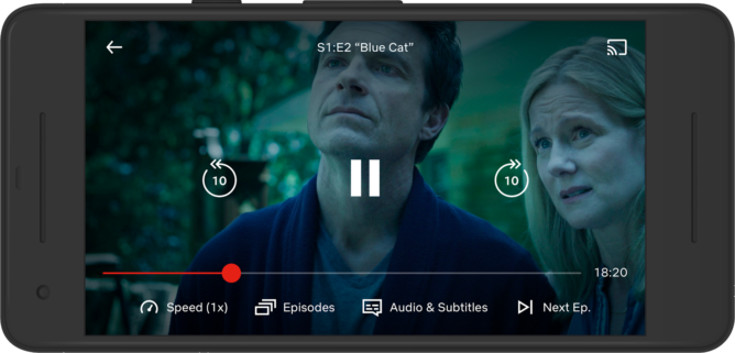 Netflix Officially Brings Variable Speed Playback To Android Devices