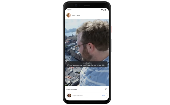 Live Caption is a Pixel 4 exclusive at launch, will come to Pixel 3 and 3a in December