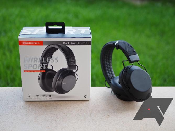 Plantronics Backbeat Fit 6100 Review Good Gym Friendly Over Ear Headphones
