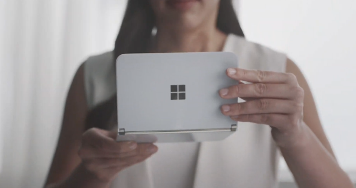 Microsoft Surface Duo spotted publicly; could launch sooner than expected