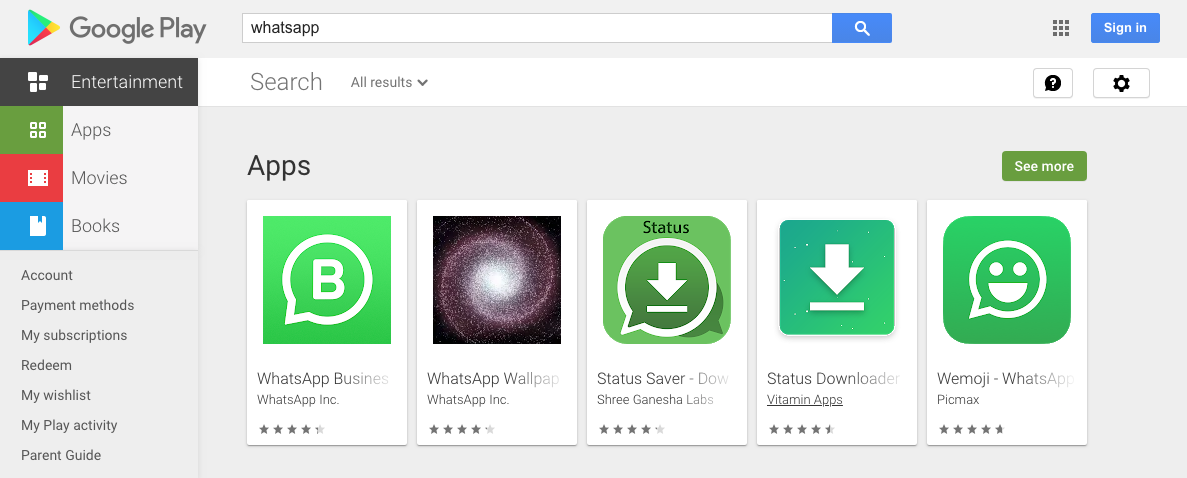 [Update: Back] WhatsApp is mysteriously disappearing from the Play Store
