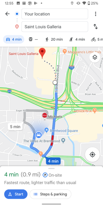 Google Maps Adds Local Business Pins To Navigation Just In Time