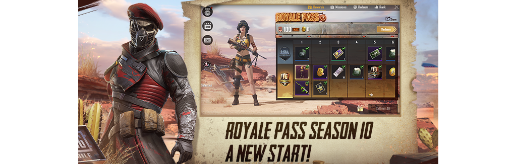 Pubg Mobile 0155 Update Adds Royale Pass Season 10 New