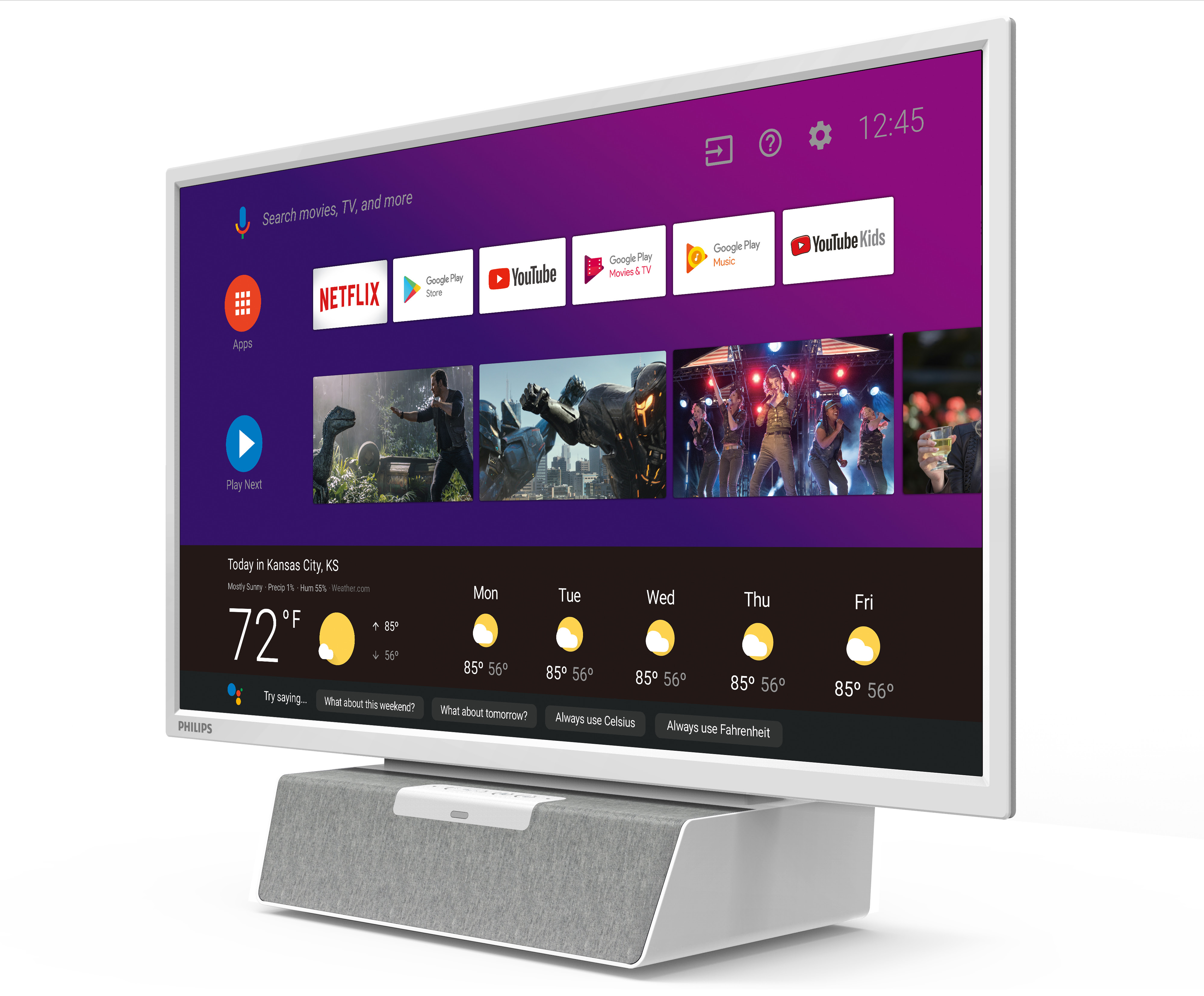 """(Update: Now available) Philips releases 24"""" Android TV made for your kitchen"""