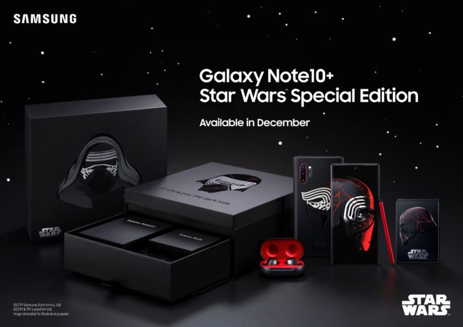 Samsung announces Galaxy Note10+ Star Wars Edition with
