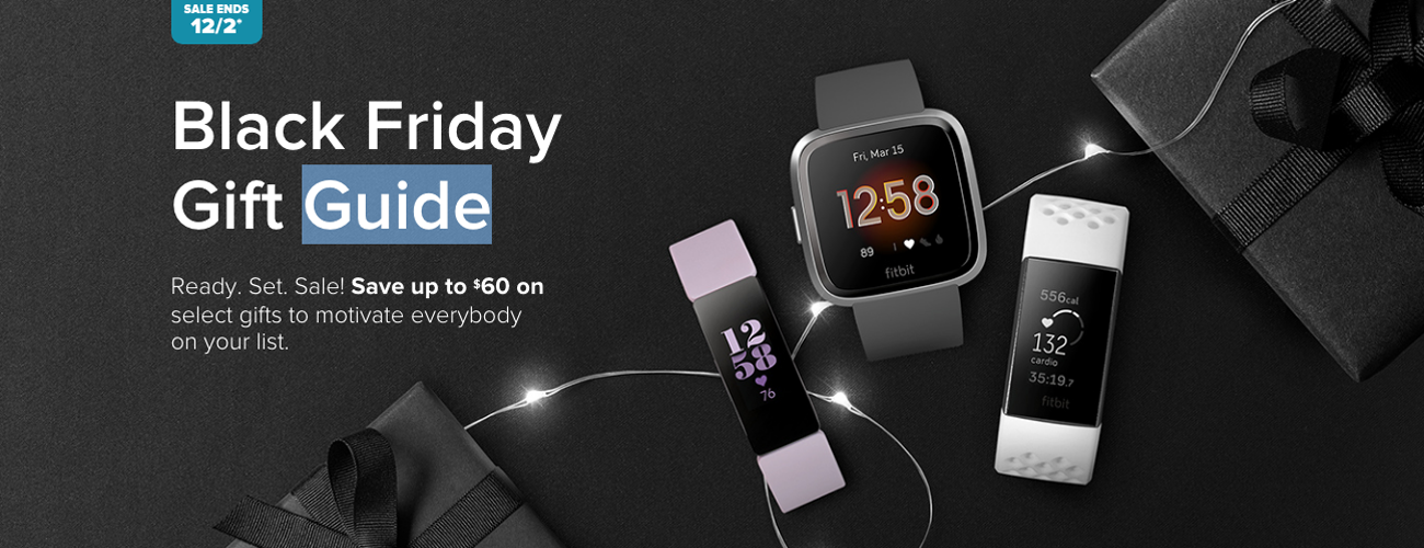 Fitbit Black Friday Deals Include 69 Inspire Hr 99 Charge 3 And 149 Versa 2