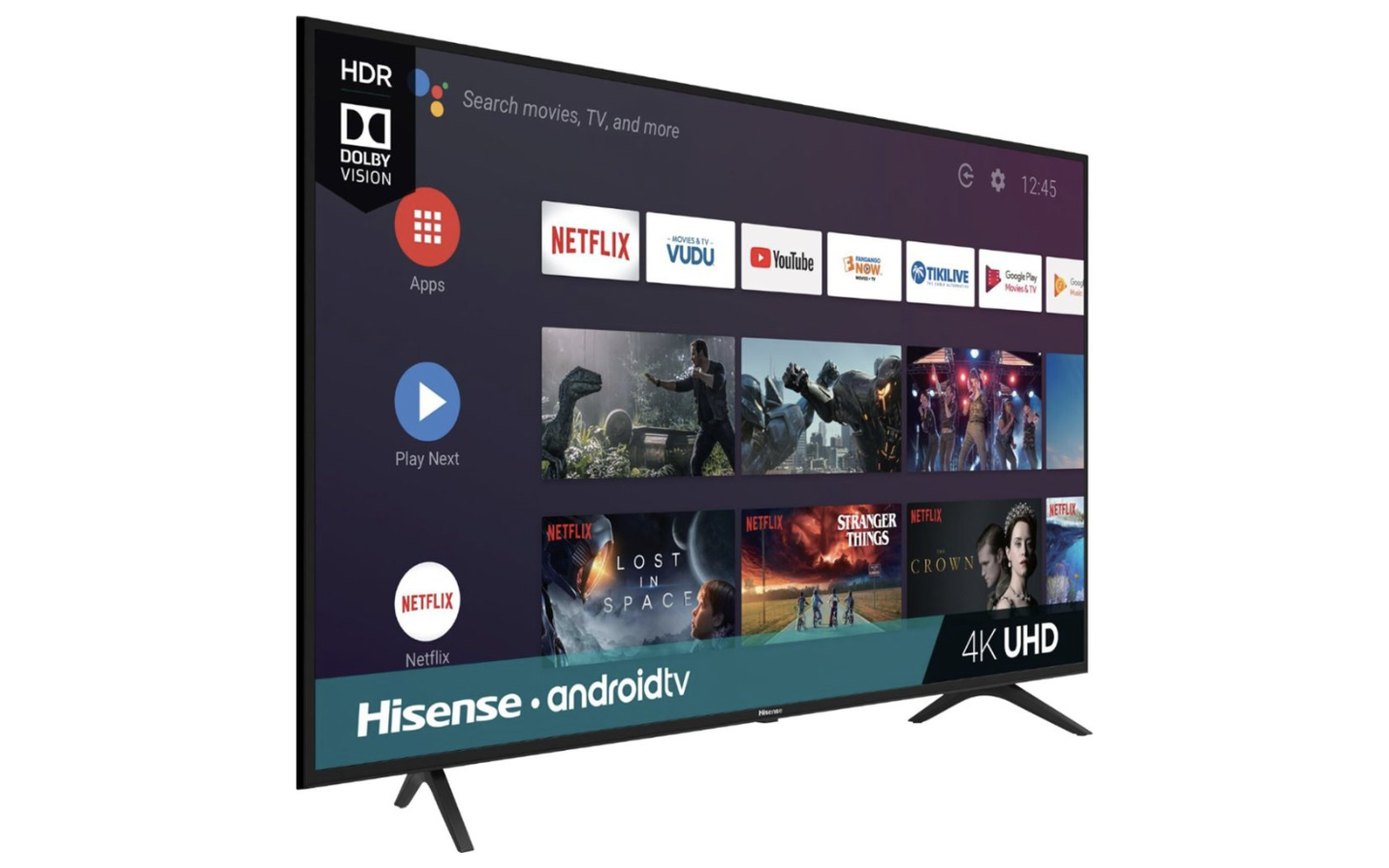 This 65 Hisense H6500f Android Tv Is 350 150 Off At Best Buy Today Only
